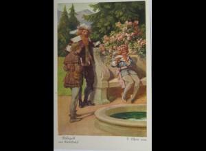 """""""Rübezahl Flucht der Prinzessin Emma, F. Elßner, Serie 157, Nr.3891 ♥"""