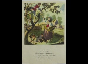 """Frauen, Spruch"" ca.1950 ♥ (1198)"