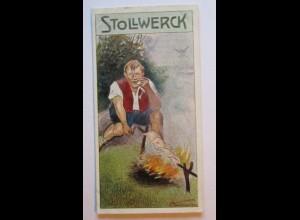 Stollwerck Sammelbild, Märchen, Die Ferkelschwänzchen (1236)