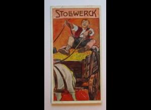 Stollwerck Sammelbild, Märchen, Die alten Bekannten (1264)