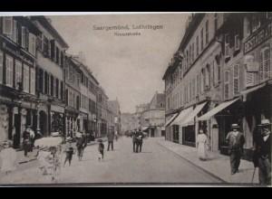 Saargemünd, Kreuzstrasse, ca. 1910