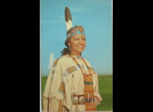 """Indianer, Indianerin, Maid, Color bei Bob Taylor"" ca. 1950 ♥"