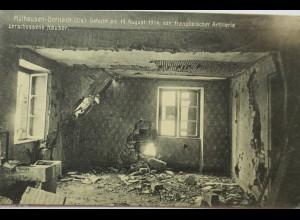 Mülhausen-Dornach, zersch.Haus 1914, 24. Reserve Division (1642)