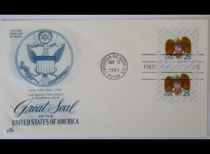 USA, Great Seal of the United states, FDC 1989 (17472)