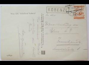 Österreich, Wien, Schloßhotel Kobenzl, 1929 (19440)