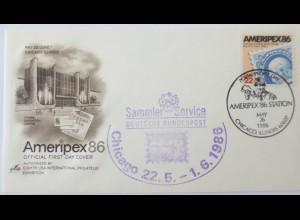 Bund, Sammler Service der Deutschen Bundespost 1986