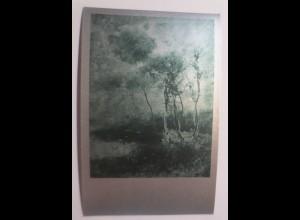 Metallkarte, Landschaft, Bozzetto, (P.Mariani) 1910 ♥ (69639)