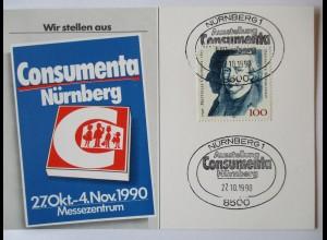 Nürnberg, Messe Consumenta 1990