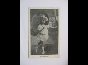 Prinzeß Betty, Kind mit Schirm, Verlag Lintz Düsseldorf (37204)