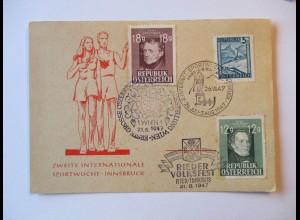 Österreich, Internationale Sportwoche Innsbruck 1947 (28570)
