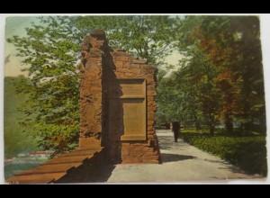 Heidelberg, Partie aus dem Stückgarten, 1914
