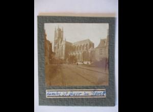Belgien Flandern, Kirche in Gent original Foto