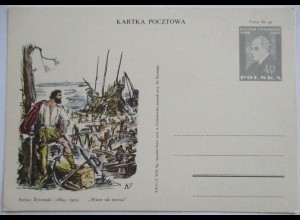 Polen Sonderganzsache Stefan Zeromski 1964 (32007)