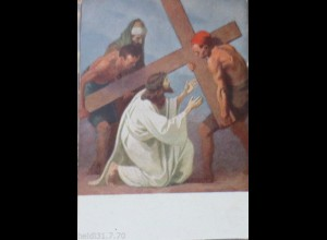 """Kreuzweg"" KJM Nr. 16212 Station 2, Jesus nimmt das schwere Kreuz ♥"