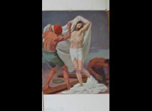 """""""Kreuzweg"""" KJM Nr. 16220 Station 10, Jesus wird seiner Kleider beraubt ♥"""