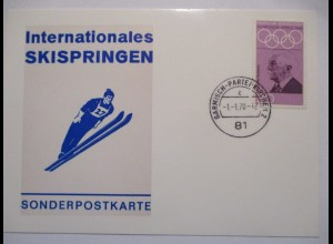 Ski, Internationale Skispringen Garmisch Partenkirchen 1970