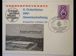 Gewerkschaft, HBV Gewerkschaftstag 1976 in Saarbrücken (37133)
