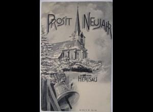 Neujahr, Kirche, Glocken, Herisau, 1909 ♥ (26336)