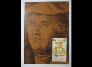 Religion, Martin Luther, Lutherstadt Wittenberg 1983