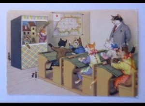 """Katzen, Schule, Theater, Maus"" 1925 ♥ (44166)"