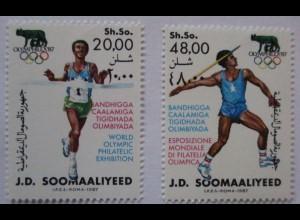 Somalia, Nr.398-399 Olympia postfrisch