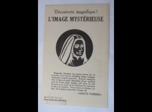 Fixierbild, Sainte-Therese 1910 ♥ (40878)