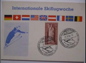 Skispringen, Skiflugwoche Oberstdorf 1958