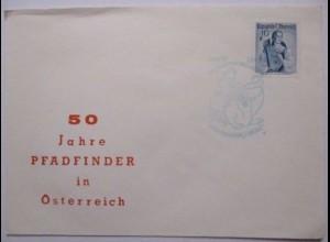 50 Jahre Pfadfinder in Österreich, Sonderbrief