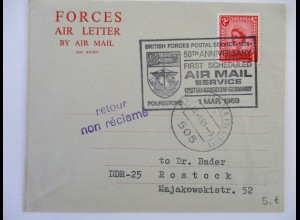 Großbritannien, Forces Air Letter 1969