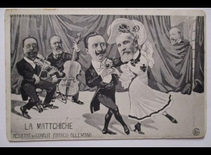 Großbritannien, König Eduard VII., Kaiser Wilhelm II., La Mattchiche (44100)