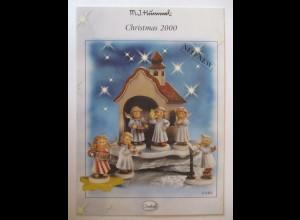 Werbung, Hummel Christmas 2000, Goebel Postkarte