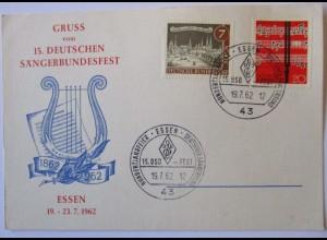 Musik, 15. Deutsche Sängerbundfest Essen 1962
