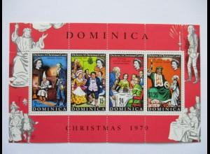 Dominica, Christmas 1970, Block postfrisch (49761)