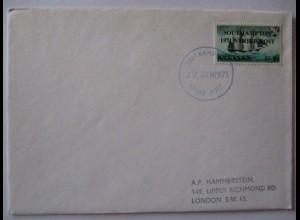 Großbritannien, Strike Mail, Streik-Post 1971, Southampton