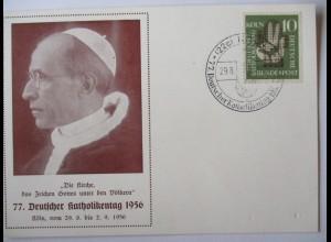 Religion, 77. Deutscher Katholikentag 1956 in Köln