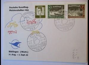 Flugzeuge, Deutsche Kunstflug Meisterschaften 1962