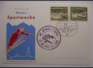 Wintersport, Skispringen Tournee 1962-1963