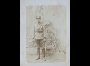 Deutscher Soldat, Fotokarte (559)