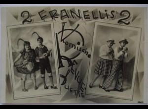 Zirkus, Clowns, Komiker, 2 Franellis, Komische Revue