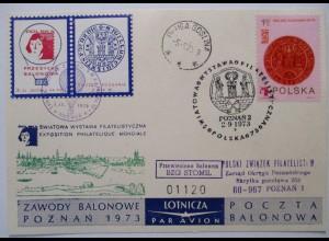 Polen, Ballonpost 1973 57412