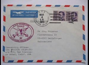 Schiffspost USA, USS Truxtun 1970 (58334)