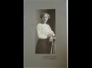 Frau Mode Poträt-Foto Photo Philipp Rosenzweig Betzdorf ca. 1900 (58828)