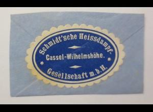 Vignetten, Verschlußmarken, Schmidt´sche Heissdampf Kassel-Wilhelmshöhe ♥(59630)