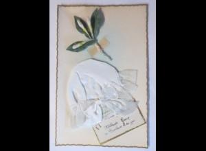 Geburt, Mütze, 1910 ♥