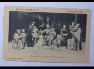 Passionsspiele O. Ammergau, Nr. 2, 1900 ♥