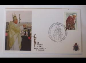 Papst Johannes Paul II. Sonderbrief Polen 1999 ♥ 63905