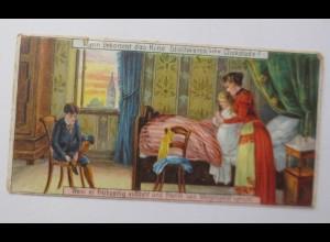 Stollwerck, Gruppe 61 Nr.1 , Wann kommt das Kind, 1900 ♥ (69642)