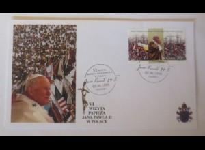 Papst Johannes Paul II. Sonderbrief Polen 1999 ♥ 64824