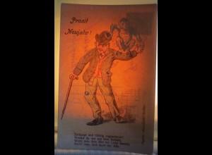 Halt gegen das Licht, Männer, Affe, 1907 ♥ (64911)