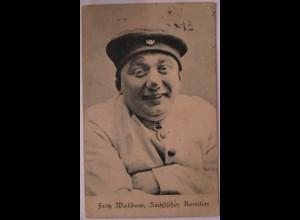 Zirkus, Clowns, Komiker, Fritz Maldow, Komiker aus Sachsen, 1912